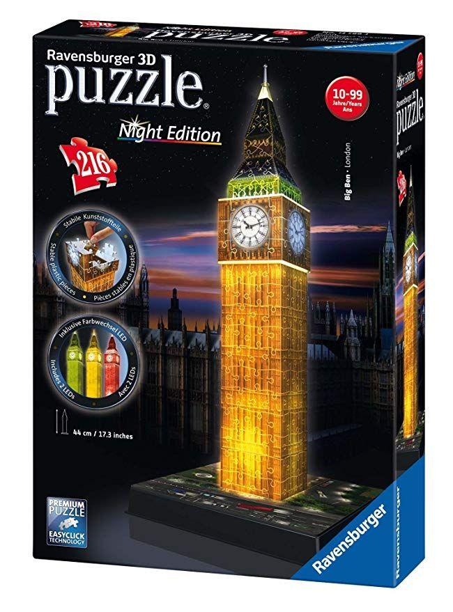 Ravensburger Puzzle Big Ben bei Nacht