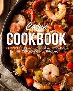 Cajun Cookbook: Discover the Heart of Southern Cooking (eBook, Englisch)