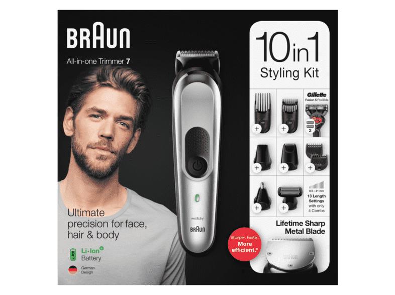 Braun MGK 7220 Multi-Grooming-Kit Haar-/Bartschneider