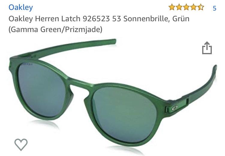 Oakley Herren-Sonnenbrille in grün