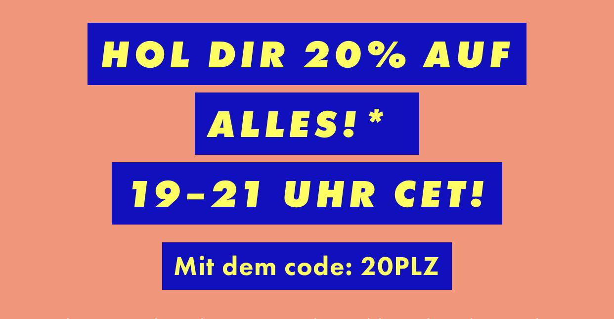 Asos: 20% auf reguläre Ware nur bis 21:00