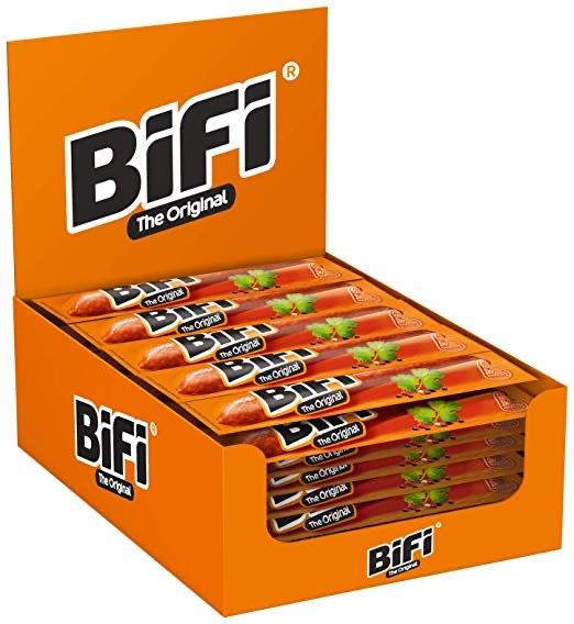 Bifi Original – herzhafter Salami Fleischsnack 40 x 22,5g