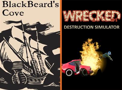 Wrecked & Blackbeard's Cove, gratis (PC)