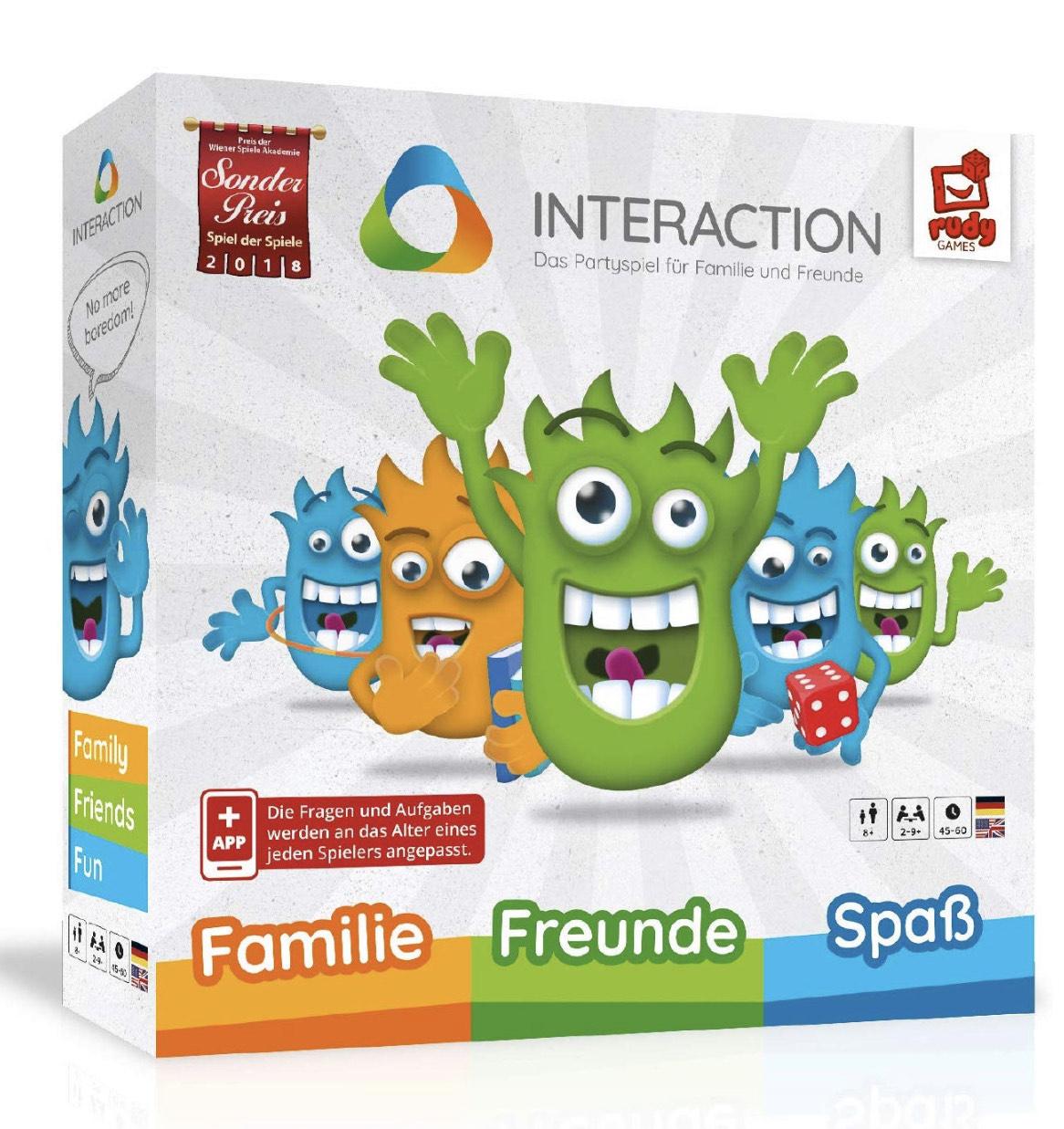 INTERACTION 2019 von Rudy Games - Interaktives Brettspiel