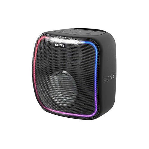 Sony SRS-XB501G tragbarer Bluetooth Lautsprecher (Spritzwasser- und staubgeschützt, Extra Bass, Party Beleuchtung, 16h Akku)