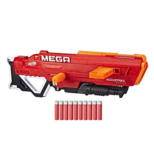 Nerf MEGA Thunderhawk mit Slide-Magazin und klappbarem Stativ