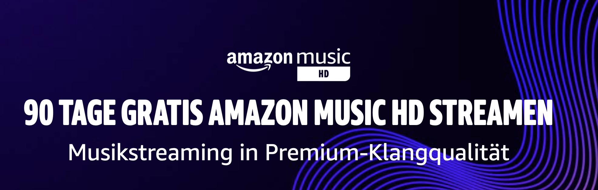 Amazon Music Unlimited für Familien 90 Tage Kostenlos (Neukunden)