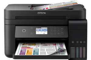Epson EcoTank ET-3750 3-in-1 Tinten-Multifunktionsgerät (Kopierer, Scanner, Drucker, DIN A4, ADF, Duplex, WiFi, Ethernet, Display, USB 2.0)