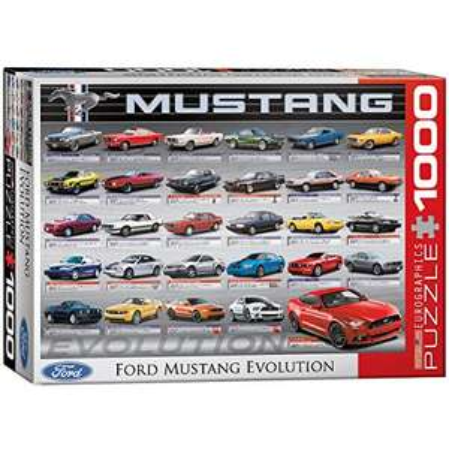 [Amazon] Für alle Mustang Fans -> 1000 Teile Puzzle um nur 10,58€