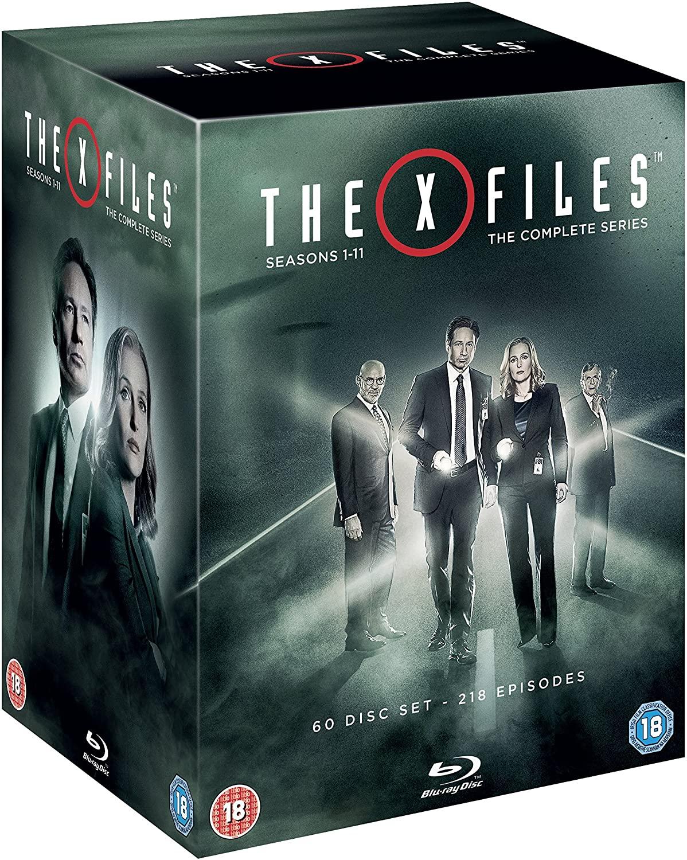 Akte X - Die Komplette Serie (Blu-ray) inkl. dt. Tonspur