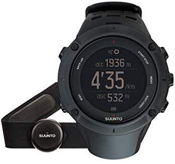 Suunto Ambit 3 Peak Black HR GPS Uhr + Herzfreuqenzbrustgurt