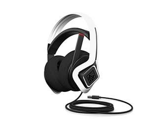 HP OMEN Mindframe Prime Gaming Headset (FrostCap-Technologie, Virtual Surround Sound, Noise-Cancelling, Mikrofon, RGB-Beleuchtung weiß