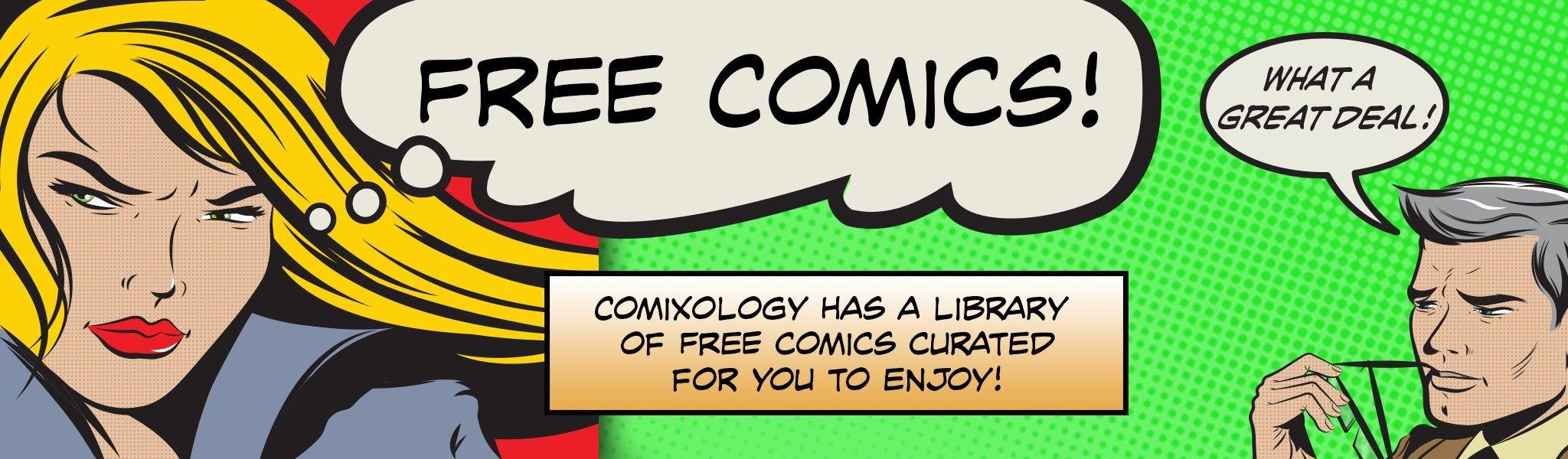 Comixology - 105 free digital Comics - weil wir jetzt alle mehr Zeit haben!