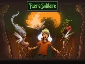itch.io: Faerie Solitaire Classic + ART SQOOL (PC, Mac, Linux) kostenlos