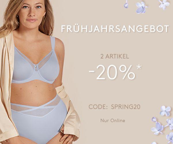 -20% bei Bestellung im Online-Shop von TRIUMPH