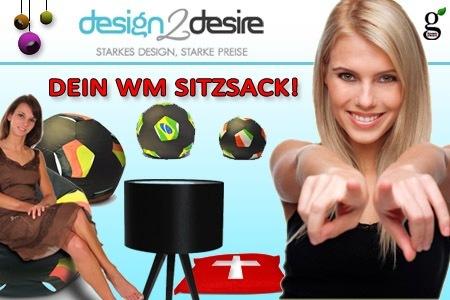 50€ Design2Desire Gutschein für 20€ und Cinemaxx-Kinogutschein inkl. Popcorn für 7€