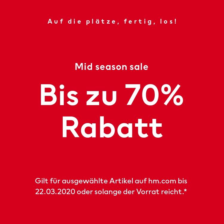 H&M... Bis zu - 70%