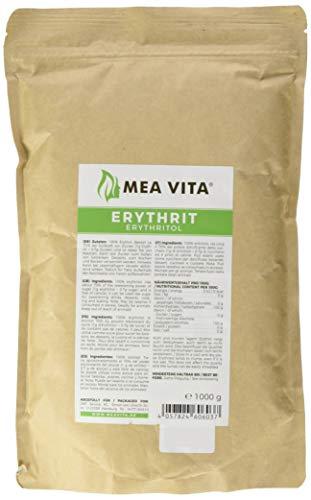 MeaVita Erythrit - 1er Pack (1x 1000 g) im Beutel