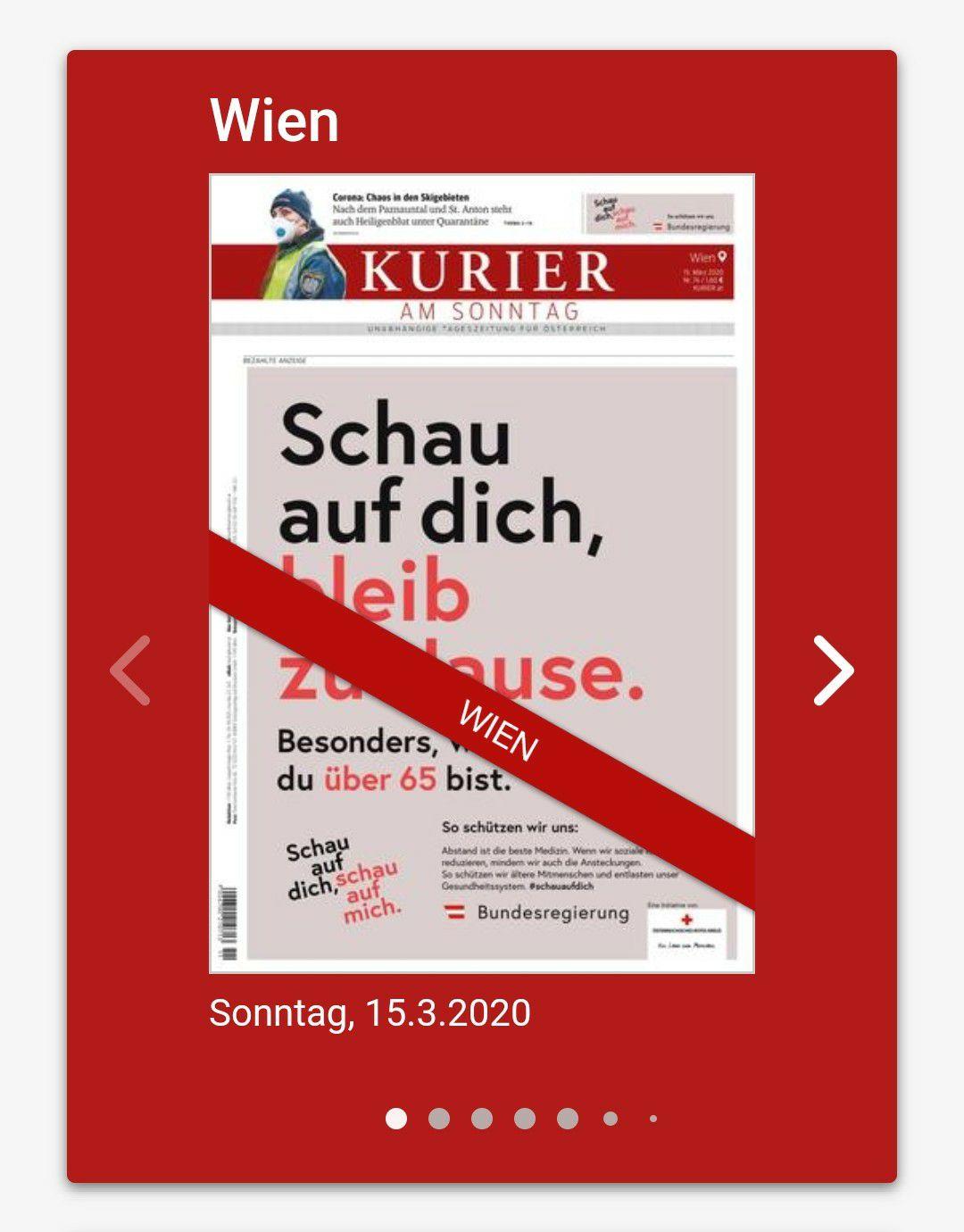 Kurier epaper 4 free