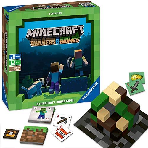 Minecraft Builders & Biomes - Brettspiel