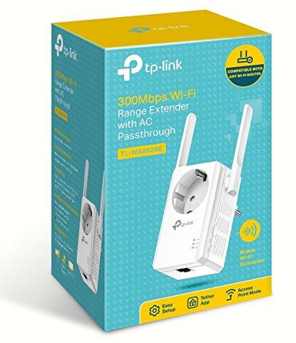 TP-Link TL-WA860RE WLAN Repeater mit Steckdose und App-Steuerung