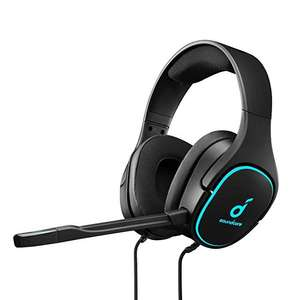 Anker Soundcore Strike 3 Gaming Headset (7.1 Surround Sound, Mikrofon mit Geräuschisolierung, kühlende Gelkissen)