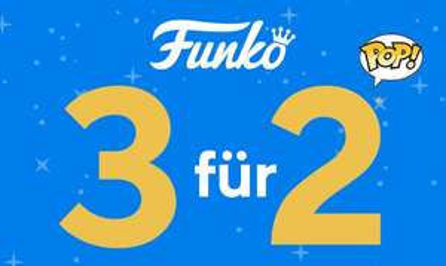 """FUNKO """"3 für 2""""-Aktion bei EMP"""