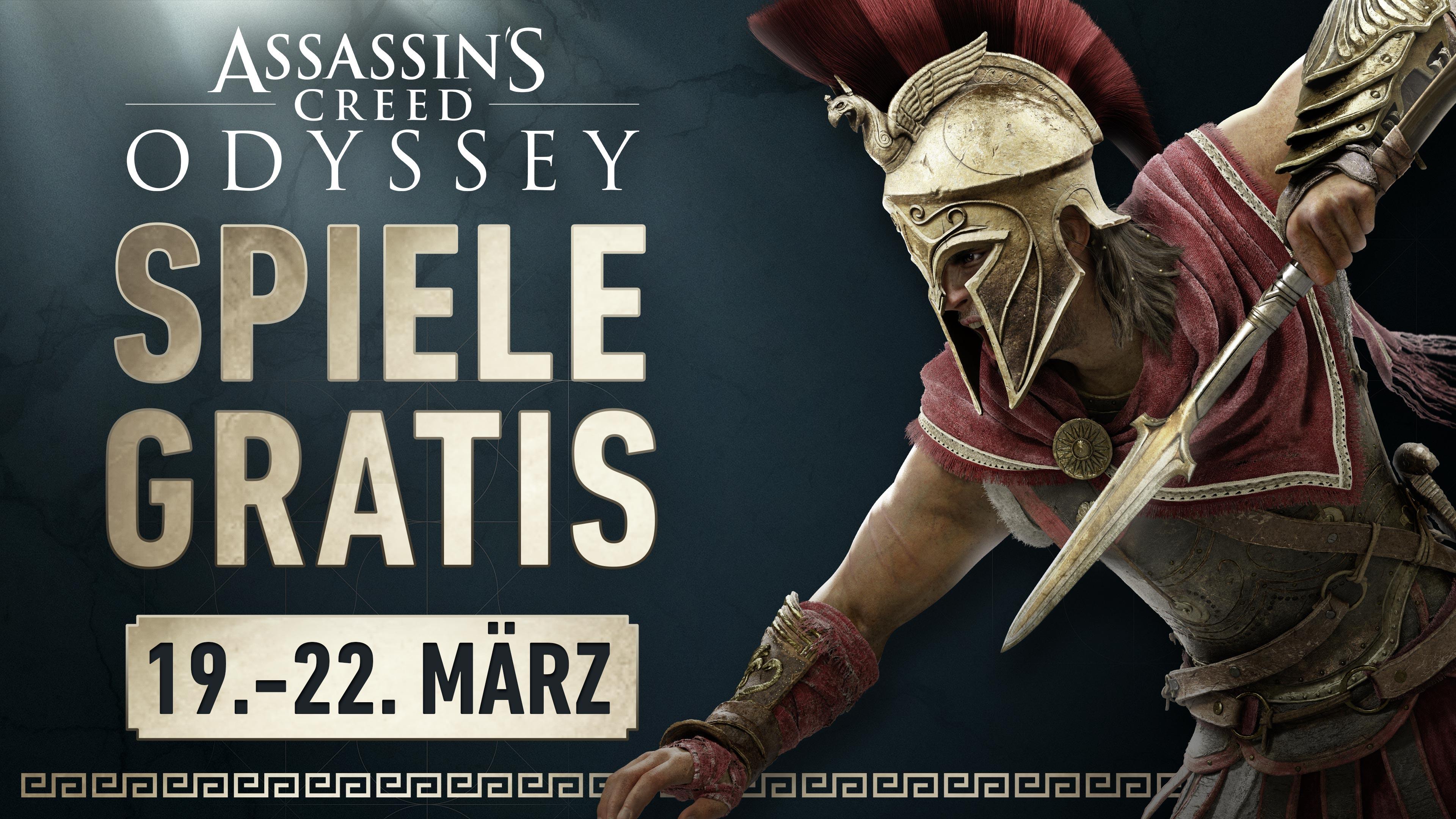 ASSASSIN'S CREED ODYSSEY an diesem Wochenende gratis für PC, PS4 oder Xbox One