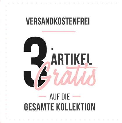 Hunkemöller: 3 Artikel kaufen, den günstigsten gratis erhalten + kostenloser Versand
