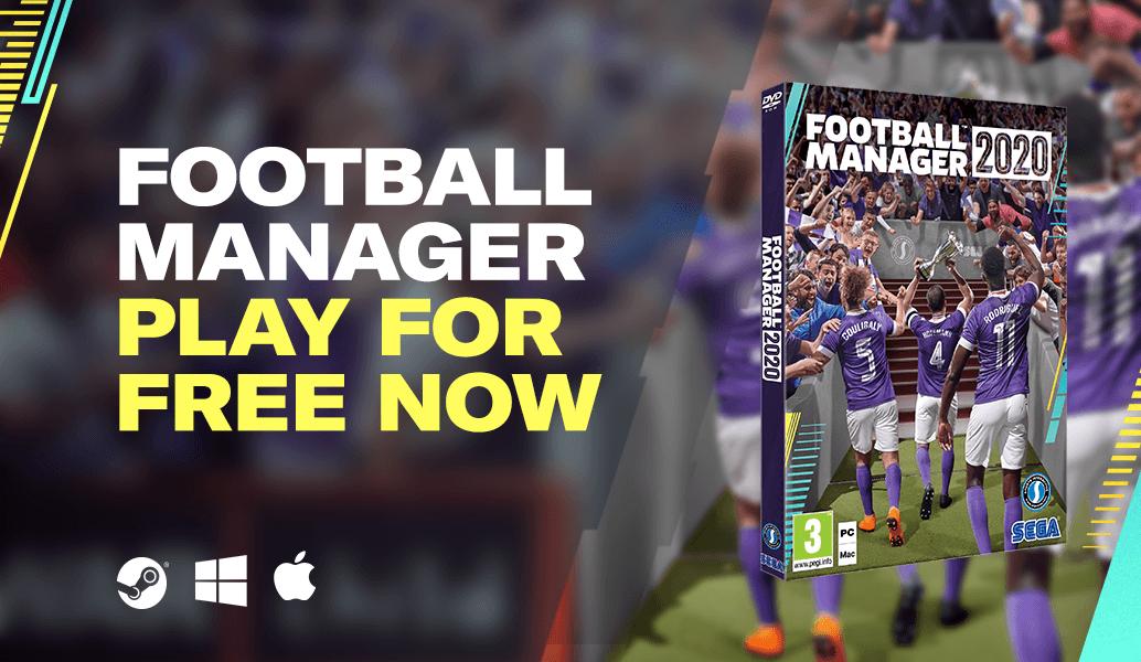 Football Manager 20 PC/Mac (Steam) Gratis bis zum 25.3. (16:00)