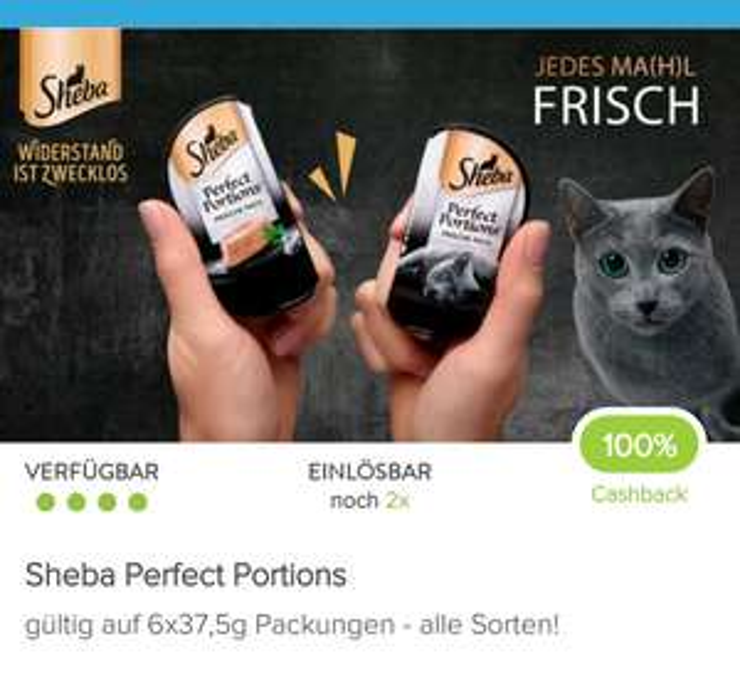 Sheba Perfect Portions - Pastete für die Katz'