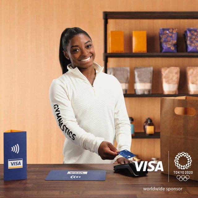 Mit Visa zahlen und 2 % Geld zurück