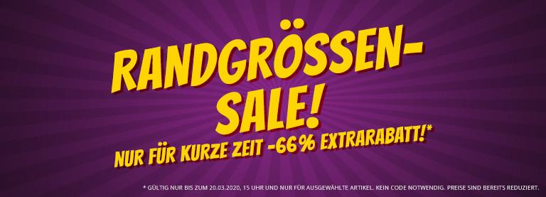 Sportspar. Randgrößen-Sale auf 600 Aktionsartikel nochmals 66%