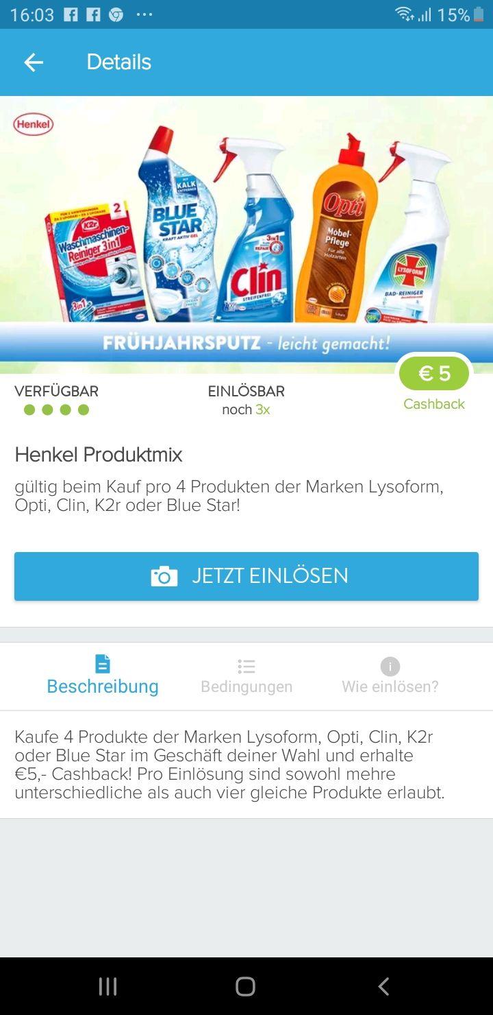 Clin Fensterreiniger um 0,30 Cent mit markt Guru deal