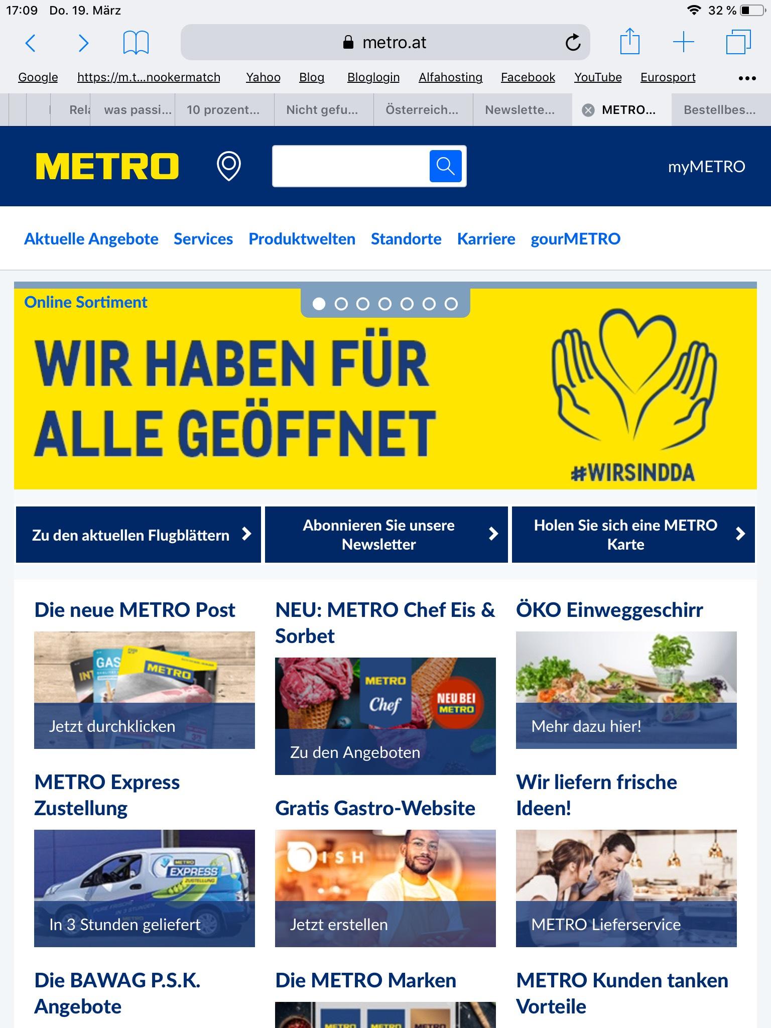 Metro offen für ALLE