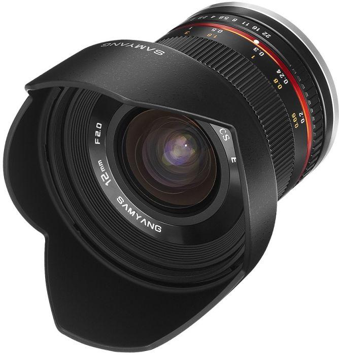 Samyang 12mm 2.0 NCS CS Objektiv für Fujifilm X