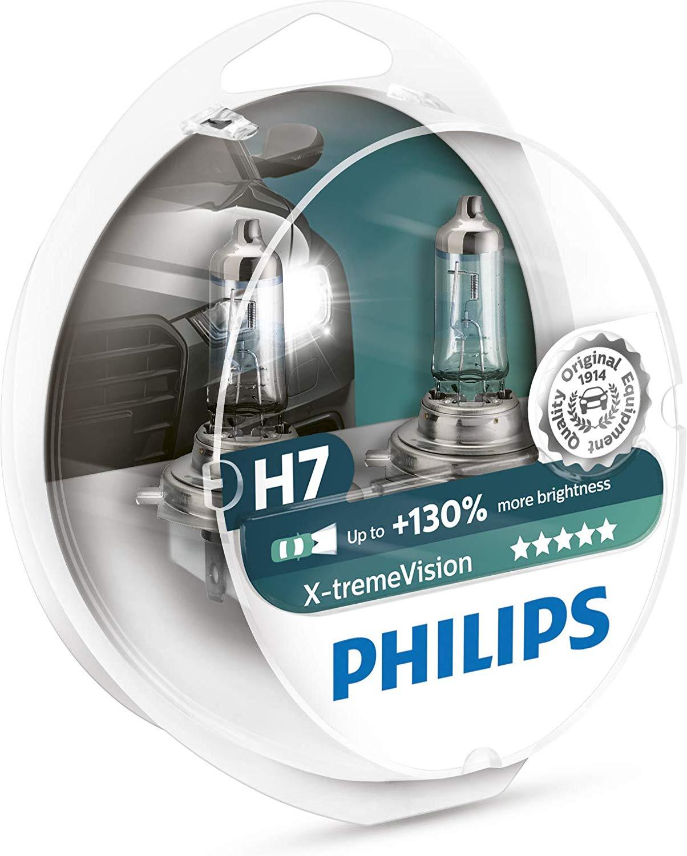 Philips 12972XV+S2 XtremeVision 130 Prozent Scheinwerferlampe H7