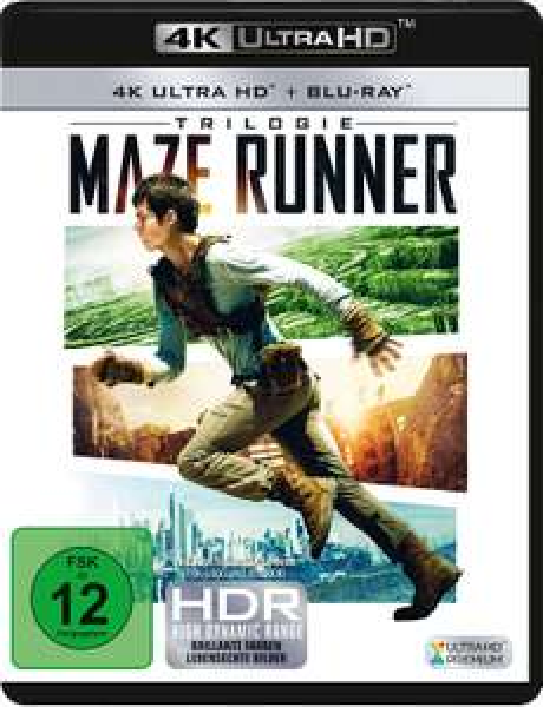 Maze Runner Trilogie [4K Ultra HD Blu-ray + Blu-ray]