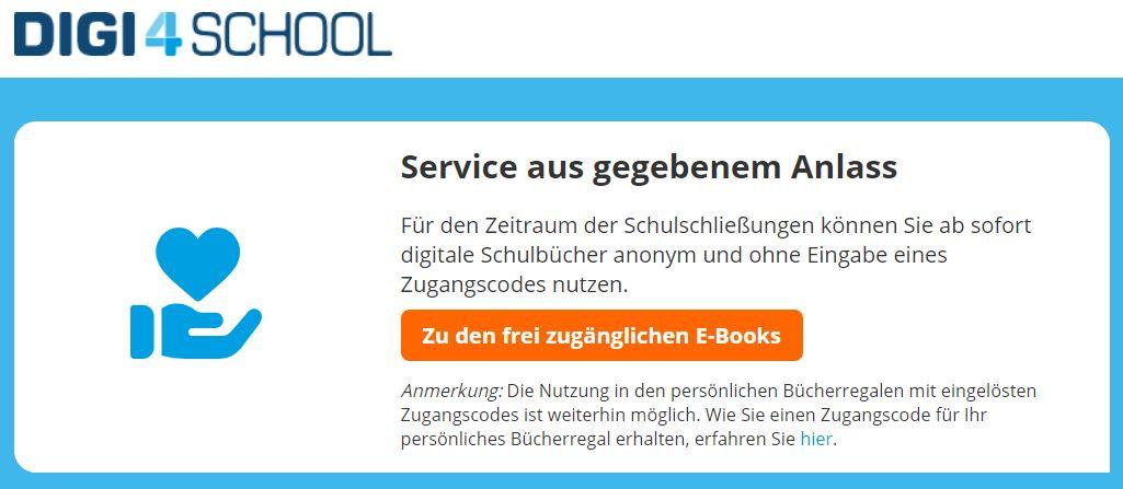 Kostenloses ebook Angebot von digi4school/öbv