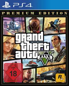 Grand Theft Auto V Premium Edition für Playstation 4 oder Xbox One