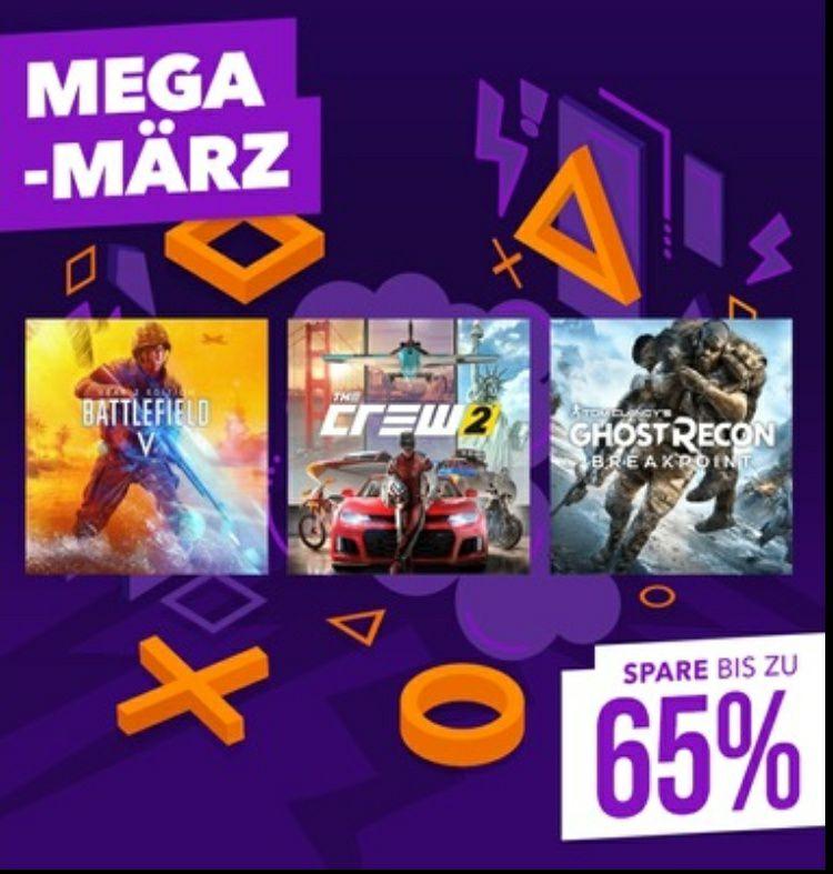 Mega-März im PlayStation Store