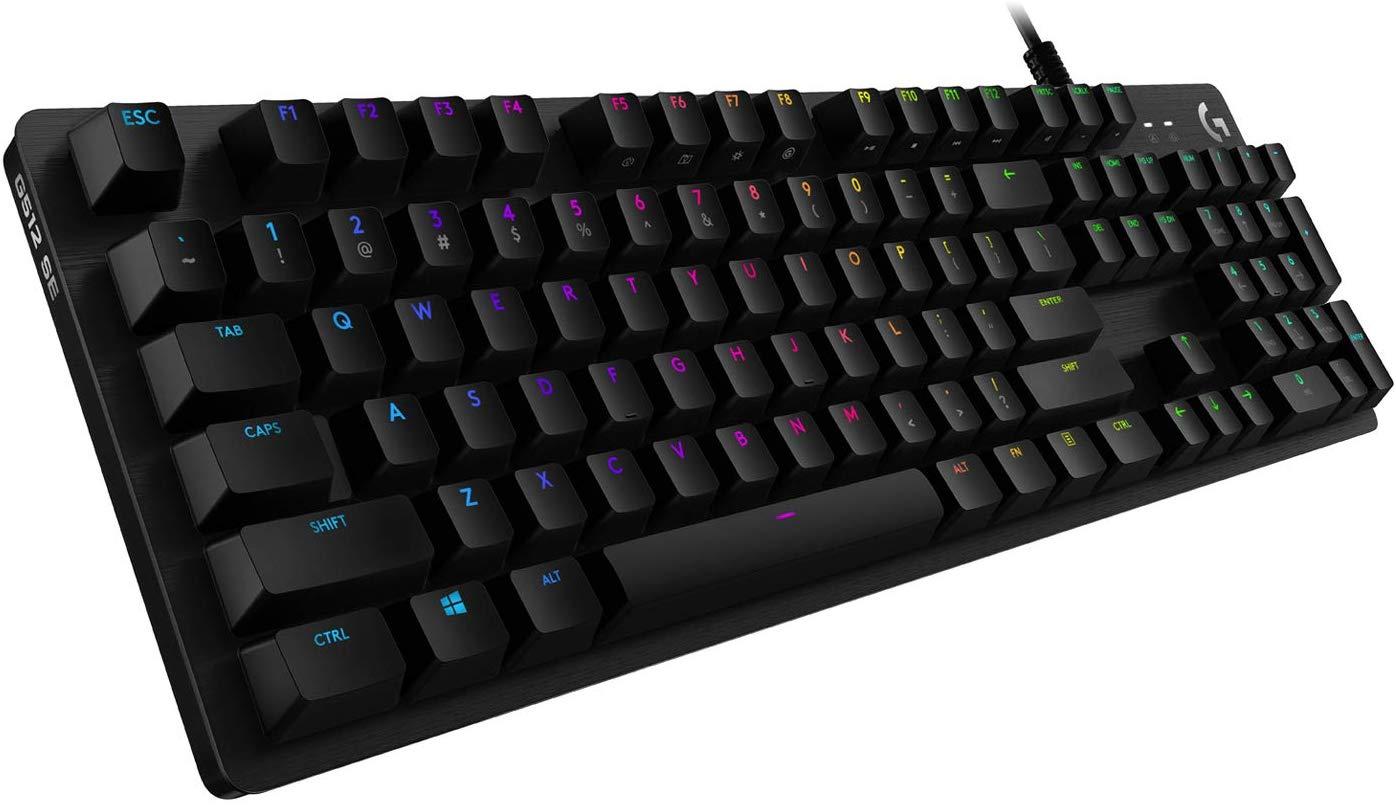 Logitech G512 Mechanische Gaming-Tastatur Special Edition, RGB-Beleuchtung