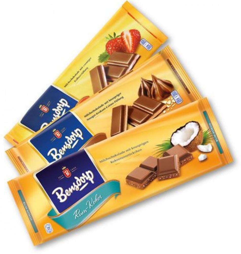 [Interspar] Bensdorp Schokolade 300g Tafel versch. Sorten ab 2 Tafeln um nur je 1,01€