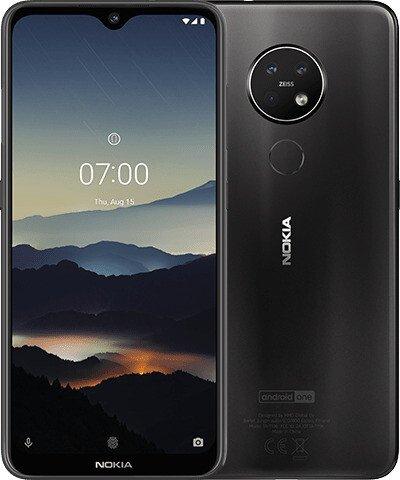 Nokia 7.2 Smartphone (6,3 Zoll, 4GB RAM, 64GB Speicher, Dual-Sim, Android 9.0)