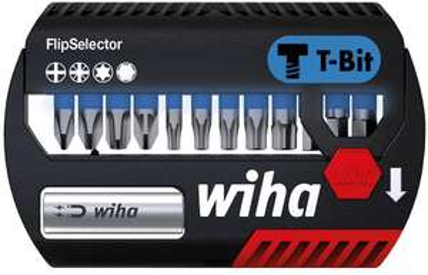 Wiha FlipSelector T-Bit (25mm) - 13-tlg. (SB7947T999)