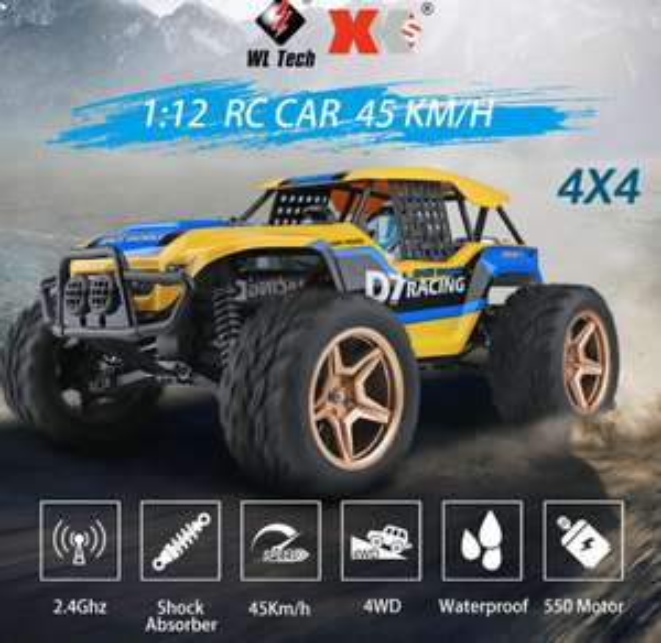 [Ebay] Wltoys XK 12402-A 1:12 RC Car mit 4×4 Antrieb für 73,58€ statt (~100€)