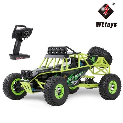 Wltoys 12428 1/12 2.4G 4WD 50km/h Racing Buggy