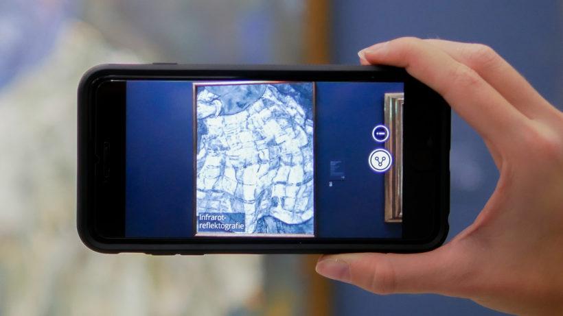 Gratis-Touren mit Augmented Reality durch Albertina und Belvedere