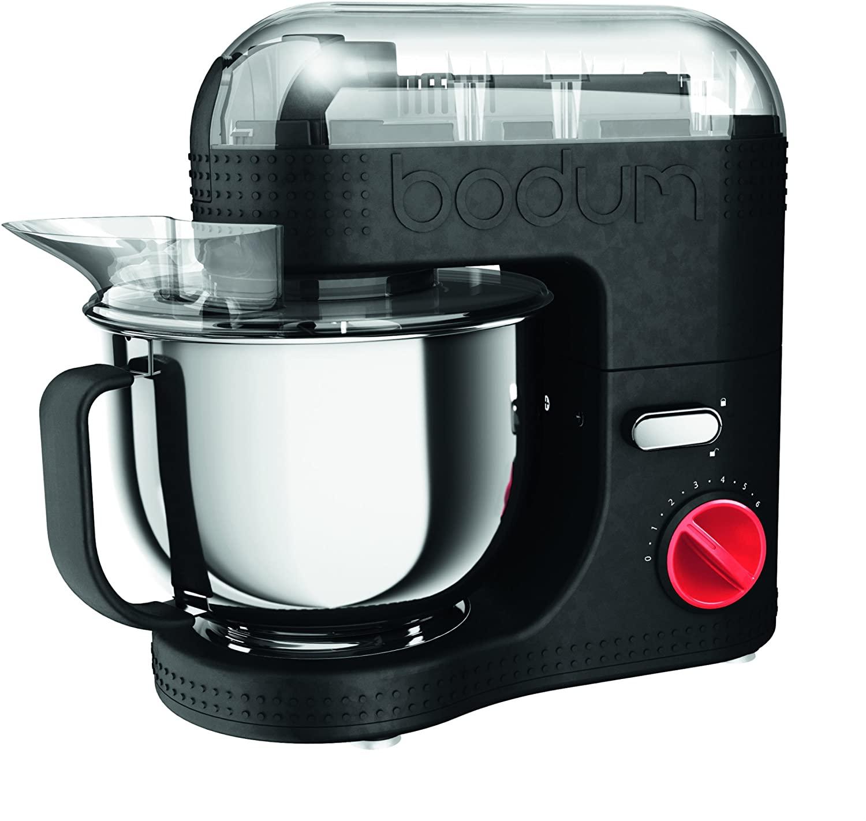 Bodum Bistro 11381/-01/-294/-565/-913 Elektrische Küchenmaschine, 4.7 l, 4.7 liter