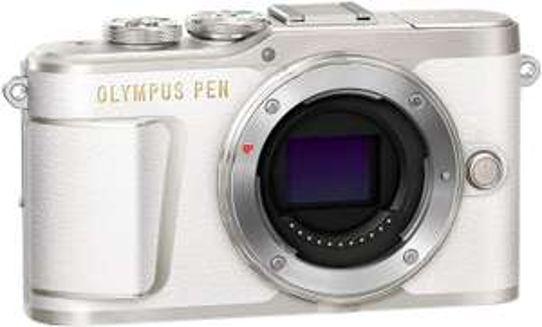 Olympus PEN E-PL9 Micro Four Thirds Systemkamera weiß